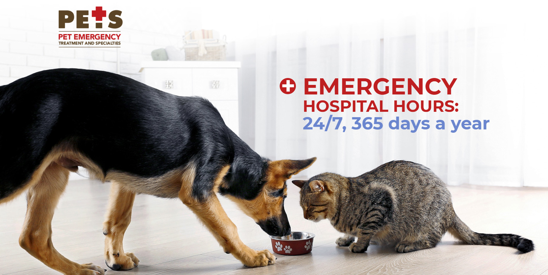 Emergency Hospital Hours: 24/7, 365 days a year